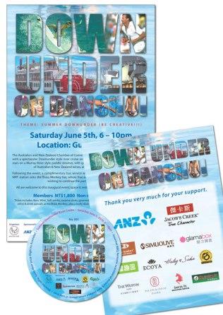 ANZ event poster